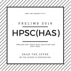 HPSC Prelims Test Series 2018 (Only 24 Tests with solution-PDF)