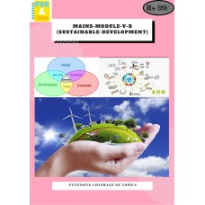 Mains Module V B(Sustainable Development)