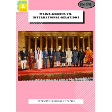 Mains Module VII International Relations