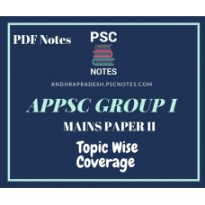 APPSC Group 1 Revised Mains Syllabus PDF Notes for Paper 2