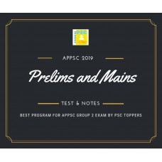APPSC Group 2- Prelims and Mains Test Series and Notes Program