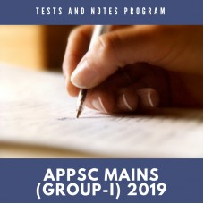 APPSC Mains Tests and Notes Program
