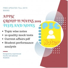 APPSC Group 2- Mains Test Series and Notes Program