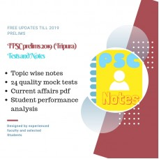 TRIPURA Prelims test-series and Notes Program