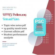 UPPCS Prelims test-series and Notes Program