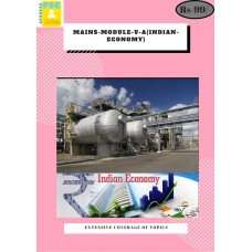 Mains Module V A(Indian Economy)
