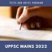 UPPCS Mains test-series and Notes Program 2022