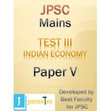 JPSC Mains Test 3