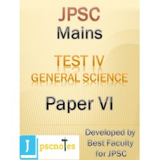JPSC Mains Test 4