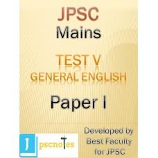JPSC Mains Test 5