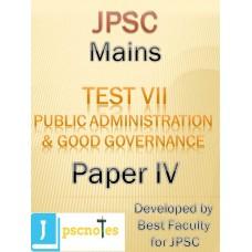 JPSC Mains Test 7