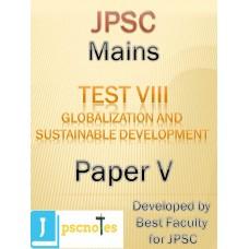 JPSC Mains Test 8