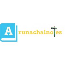Arunachal PSC Notes