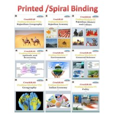 Rasfree Detailed Complete Prelims Printed Spiral Binding Notes-With COD Facility