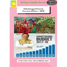 Chhattisgarh 2018 Current Affairs- Yearly PDF Module