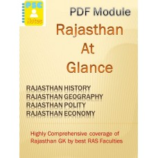 Rajasthan at Glance- PDF Module