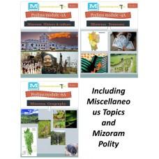 Mizoram at Glance- PDF Module