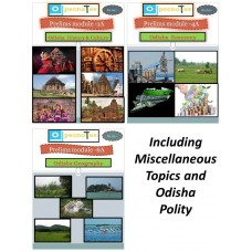Odisha at Glance- Printed Book-with COD Facility