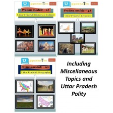 Uttar pradesh at Glance- Printed Book-with COD Facility