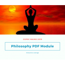 CGPSC Mains Philosophy Updated syllabus 2019