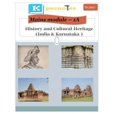KPSC KAS Mains Paper 1 Section 1- History-pdf