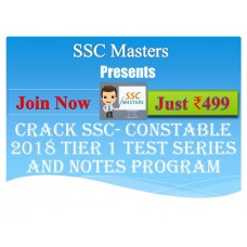 SSC GD Constable test-series and Notes Programs