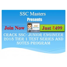 SSC JE test-series and Notes Programs