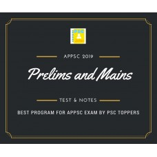 Appsc Prelims and Mains Tests Series and Notes Program