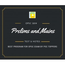 Opsc Prelims and Mains Tests Series and Notes Program