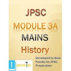 Paper III A (History) JPSC MAINS PDF MODULE
