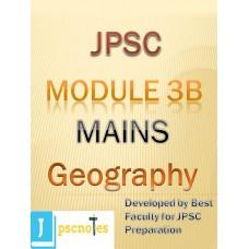 Paper III B(Geography) JPSC MAINS PDF MODULE
