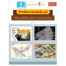 JPSC PDF Module 4A Jharkhand Economy