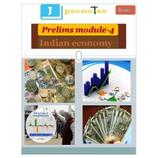 JPSC PDF Module 4 Indian Economy