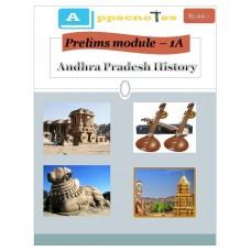APPSC PDF Module 1A Andhra Pradesh History