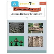 APSC  PDF Module 1A Assam History