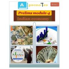 APSC  PDF Module 4 Indian Economy