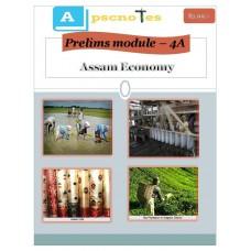 APSC  PDF Module 4A Assam Economy