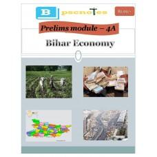 BPSC  PDF Module 4A Bihar Economy
