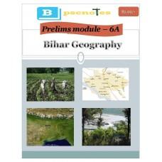 BPSC  PDF Module 6A Bihar Geography