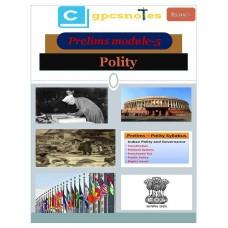 CGPCS  PDF Module 5 Polity