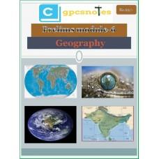 CGPCS  PDF Module 6 Geography