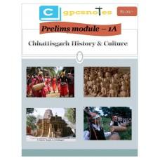 CGPCS  PDF Module 1A Chhattisgarh History