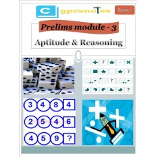 CGPCS  PDF Module 3 Aptitude and Reasoning