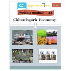 CGPCS  PDF Module 4A Chhattisgarh Economy