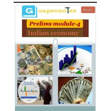 GOAPSC PDF Module 4 Indian Economy