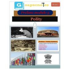 GOAPSC PDF Module 5 Polity