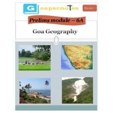 GOAPSC PDF Module 6A Goa Geography