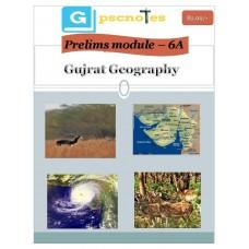 GPSC PDF Module 6A Gujarat Geography