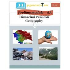 HPPCS  PDF Module 6A Himachal Pradesh Geography