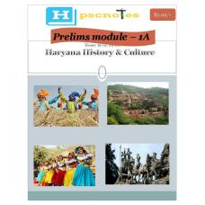 HPCS   PDF Module 1A Haryana History